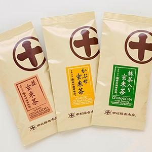 京都宇治 中村藤吉本店 玄米茶飲み比べセット
