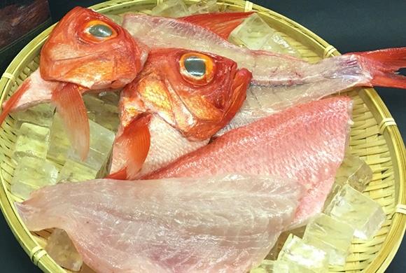 伊豆産 地金目鯛 お刺身・煮物用(約1kg)